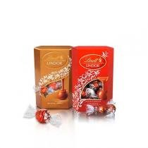 Kit 1x Chocolate Lindt Lindor Assorted 200g + 1x Chocolate Lindt Lindor Milk 200g -