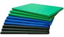 KIt 2 Colchonetes Ginástica, Academia E Yoga - 100 X 50 X 3 - Orthovida - Orthovida colchões