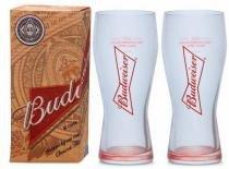 Kit 2 Copos De Cerveja Budweiser 400ml - Caixa Individual - Ambev