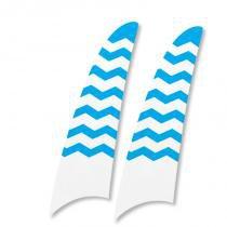 Kit 2 pás spirit listrado zigzag azul wwr14 -