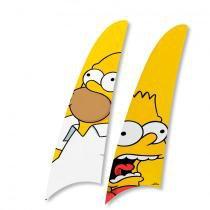 Kit 2 Pás Spirit Os Simpsons Homer e Bart Ts12 -