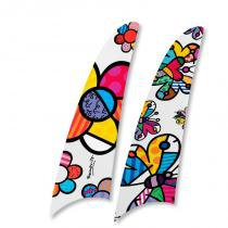 Kit 2 pás spirit romero britto flower power e butterfly rb04 - Spirit