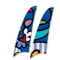 Kit 2 pás spirit romero britto heart butterfly rb01 -
