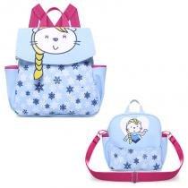 Kit 2 Peças Mochila e Lancheira Floco de Neve - Classic for Bags - Classic for baby bags