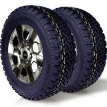 kit 2 pneu remoldado aro 16 245/70r16 bf ck405 cockstone -