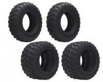 Kit 2 pneus 20/10-10 aro 10 + 2 pneus 21/7-10 aro 10 dianteiro e traseiro - Jli