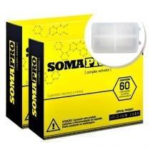 Kit 2 Somapro - 60 Cápsulas + Porta cápsulas - Iridium Labs - Intlab