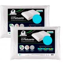 Kit 2 Travesseiro Smart Flutuante que se Adapta as Formas de Deitar Fibrasca 4246 -