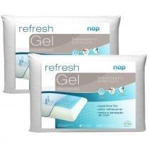 Kit 2 Travesseiros Nasa Nap Refresh Gel -