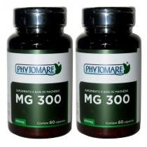 Kit 2 Und MG 300 Magnésio 60cps 650mg - Phytomare