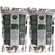 Kit 2x Chlorella 100 Pura 1200 Comprimidos - Kenbi - 1200 Comprimidos -