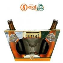 Kit 2x Trappist Orval 330ml + 1 Taça Exclusiva -