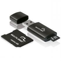 Kit 3 em 1 pen drive/micro sd/cartao 16gb mc112 multilaser -