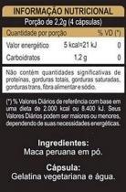 Kit 3 maca peruana premium 550mg unilife 120 capsulas -