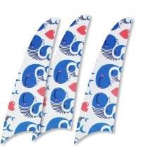 Kit 3 pás spirit menino baleias azuis l48 -