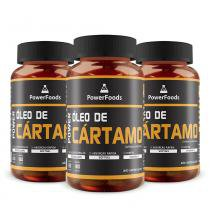Kit 3 Power Óleo de Cártamo 120 Cáps - PowerFoods - PowerFoods