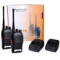 Kit 3 radios ht baofeng bf-777s + fone de ouvido - Baofeng