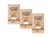 Kit 3 snack grao-de-bico pimenta do reino fit food 100g -