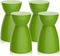 Kit 4 banquetas Rad color verde - Im In