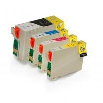 Kit 4 Cartuchos para Epson 140  T140  TX620FWD CMYK Compatível - Greenbelt