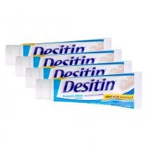 Kit 4 Creme de Assaduras Desitin Creamy 113g - Johnsons