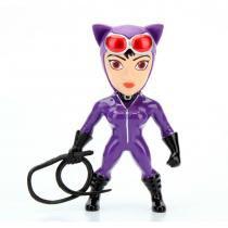 Kit 4 figuras colecionáveis 6 cm - metals - dc comics - super hero girls - dtc -