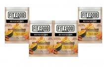 Kit 4 mix vegetais chips fit food 40g -