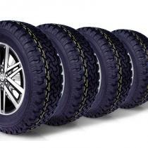 kit 4 pneu remoldado aro 17 265/65r17 bf ck405 cockstone -