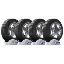 """Kit 4 Pneus Aro 16"""" Michelin 205/55 R16 94V - Primacy 3 Green X"""