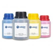 Kit 4 Refis de Toner para Brother TN329  8250CDN  HL8350 CMYK - Valejet