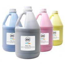 Kit 4 Refis de Toner para Brother TN329  HL8350 CMYK 1Kg Aton - Aton