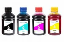 Kit 4 Tintas para Cartucho Canon 140  141 CMYK 250ml - Inova ink