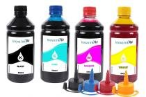 Kit 4 Tintas para Epson EcoTank L375 CMYK 500ml - Inova ink