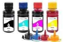Kit 4 Tintas para Epson EcoTank L455 CMYK 100ml - Inova ink