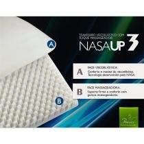 Kit 4 Travesseiros Nasa Viscoelástico Fibrasca Antiácaro para Dormir UP 3 -