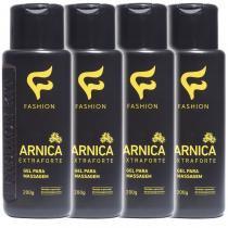 Kit 4 Und Gel para Massagem Arnica Extra Forte 200g - Fashion