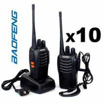 Kit 5 radios baofeng bf-777s + fone de ouvido - Baofeng