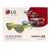 KIT 6 OCULOS 3D PASSIVO TV AG-F520 LG - LG