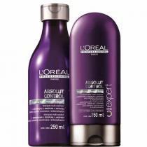 Kit Absolut Control LOréal Professionnel Shampoo 250ml e Condicionador 150ml - Loreal