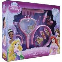 Kit Acessórios Fashion Box Princesas Disney 3086 Yellow - Yellow
