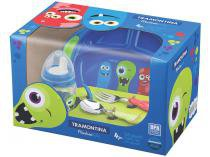 Kit Alimentação Infantil 4 Peças - Tramontina Monster Kids 23799/198