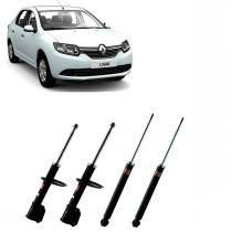 Kit Amortecedores Kyb Renault Logan / Sandero 2007 Até 2014 - Kayaba steering