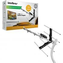 Kit Antena de TV Externa Digital AE 5010 UHF/HDTV  com 15m de Cabo - Intelbras - Intelbras