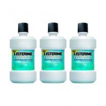 Kit Antisséptico Bucal Listerine Whitening Anti-manchas 250ml 3 Unidades - LISTERINE