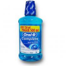 Kit Antisséptico Complete Oral B 500ml Grátis 250ml - PROCTER