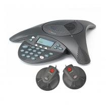 Kit Audioconferência SoundStation 2 + Microfone Soundstation 2 (PAR) Polycom - Polycom