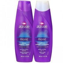 Kit Aussie Moist 2 produtos - Shampoo e Condicionador