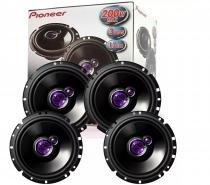 Kit   auto  falante   pioneer   4   peças   6   fiat  siena 200w rms -