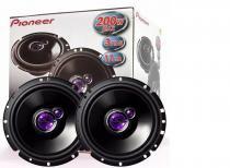 Kit auto falante pioneer triaxial 6 polegadas 100w  rms  par -
