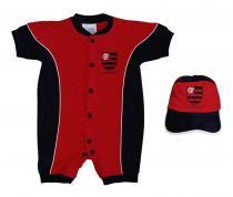 4b1061ed95 Kit Bebê Flamengo 2 Peças Curto - Torcida Baby -